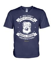 Briard Funny Gift Tshirt V-Neck T-Shirt thumbnail