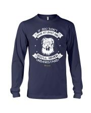 Briard Funny Gift Tshirt Long Sleeve Tee front
