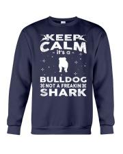 Bulldog Funny Gift Tshirt Crewneck Sweatshirt front