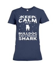 Bulldog Funny Gift Tshirt Premium Fit Ladies Tee tile