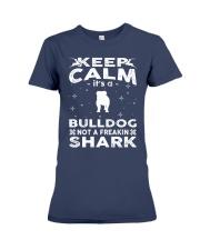 Bulldog Funny Gift Tshirt Premium Fit Ladies Tee thumbnail