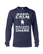 Bulldog Funny Gift Tshirt Long Sleeve Tee tile