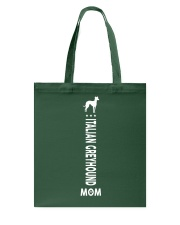 Italian Greyhound mom ladies leggings Tote Bag thumbnail