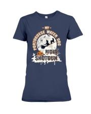 Portuguese Water Dog Funny Gift Tshirt Premium Fit Ladies Tee thumbnail