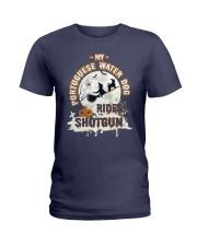 Portuguese Water Dog Funny Gift Tshirt Ladies T-Shirt thumbnail