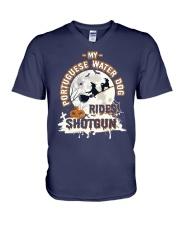 Portuguese Water Dog Funny Gift Tshirt V-Neck T-Shirt thumbnail