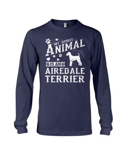 Airedale Terrier Funny Gift Tshirt
