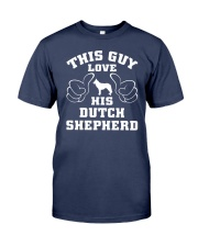 Dutch Shepherd Funny Gift Tshirt Premium Fit Mens Tee thumbnail