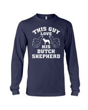 Dutch Shepherd Funny Gift Tshirt Long Sleeve Tee front