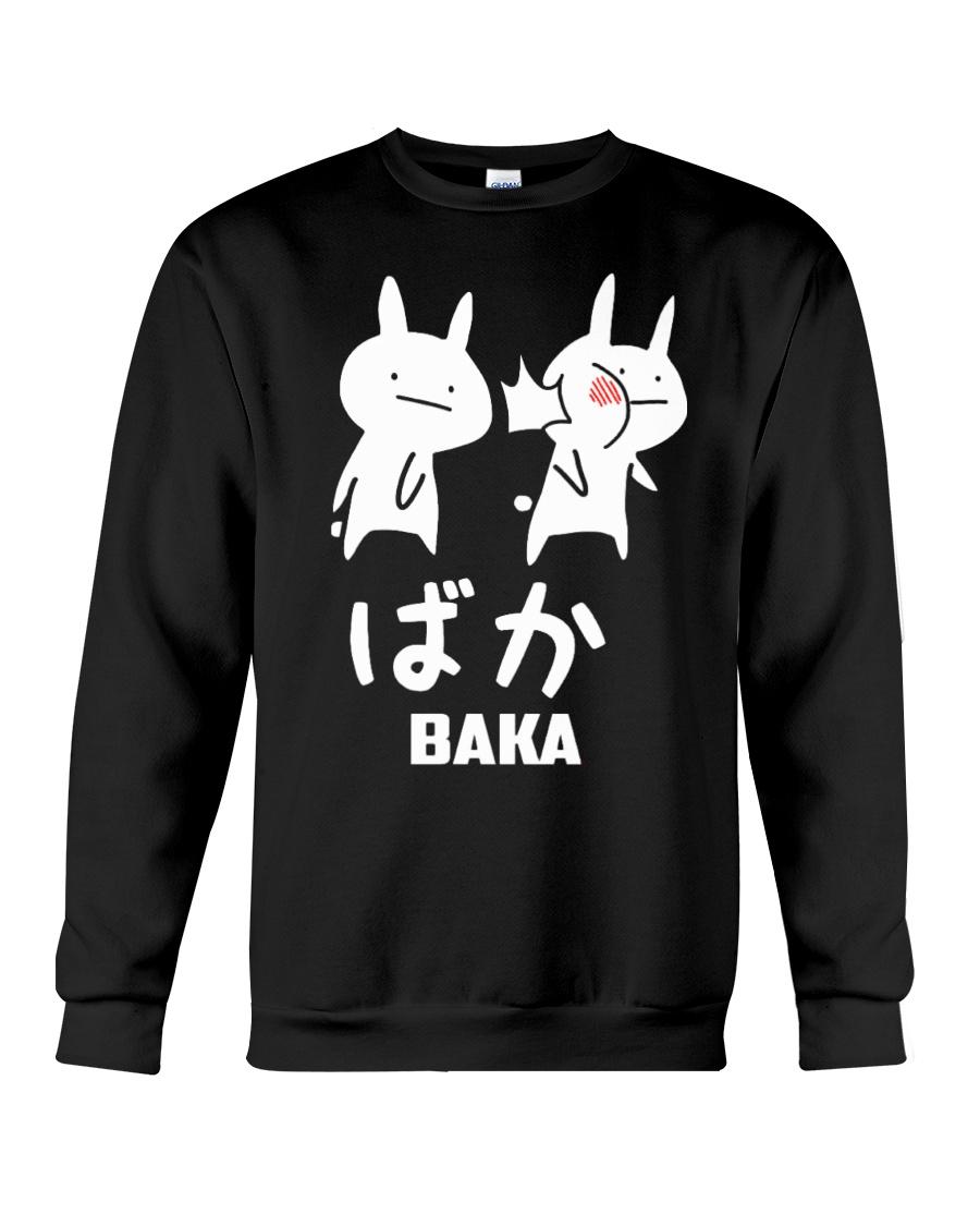 Baka Cute Anime Japanese  Crewneck Sweatshirt