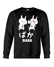 Baka Cute Anime Japanese  Crewneck Sweatshirt front