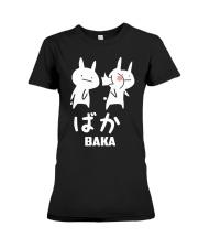 Baka Cute Anime Japanese  Premium Fit Ladies Tee thumbnail