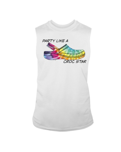 HIPPIE PARTY LIKE A CROC STAR SHIRT