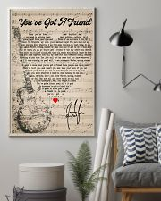 Jam3sT4ylor - U'vegot4Fri3nd 16x24 Poster lifestyle-poster-1