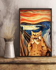 Cat Art 24x36 Poster lifestyle-poster-3