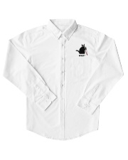 Cat What Embroidered Dress Shirt thumbnail
