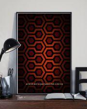 Hexagon Art 24x36 Poster lifestyle-poster-2
