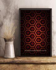 Hexagon Art 24x36 Poster lifestyle-poster-3