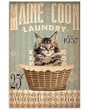 Cat Laundry 24x36 Poster front