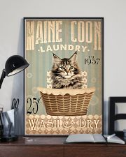 Cat Laundry 24x36 Poster lifestyle-poster-2