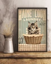 Cat Laundry 24x36 Poster lifestyle-poster-3