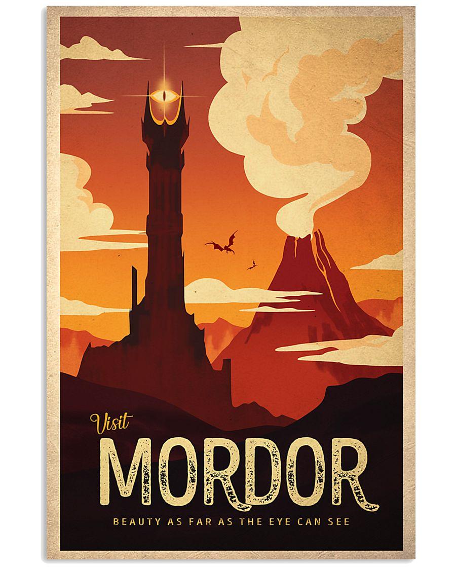 visit mordor 24x36 Poster