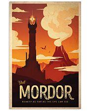 visit mordor 24x36 Poster front