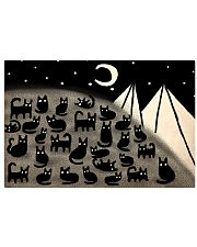 cats night 17x11 Poster front