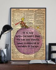 the heart 24x36 Poster lifestyle-poster-2