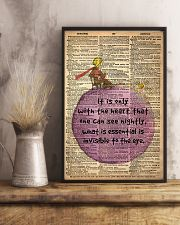 the heart 24x36 Poster lifestyle-poster-3