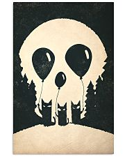 cats skull 24x36 Poster front