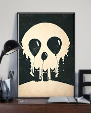 cats skull 24x36 Poster lifestyle-poster-2
