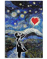 bansky heart poster 24x36 Poster front