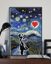 bansky heart poster 24x36 Poster lifestyle-poster-2