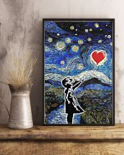 bansky heart poster 24x36 Poster lifestyle-poster-3