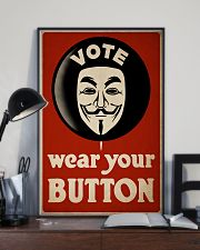 Vote Button 24x36 Poster lifestyle-poster-2