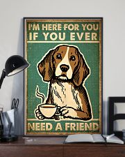 Dog Friend 24x36 Poster lifestyle-poster-2