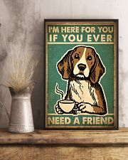 Dog Friend 24x36 Poster lifestyle-poster-3