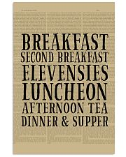 luncheon 24x36 Poster front