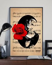 Rose and Music 24x36 Poster lifestyle-poster-2