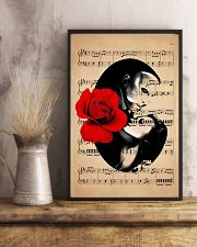 Rose and Music 24x36 Poster lifestyle-poster-3