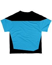 Blue Shirt All-over T-Shirt back