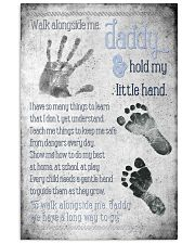 Daddy Hold Hand 24x36 Poster front