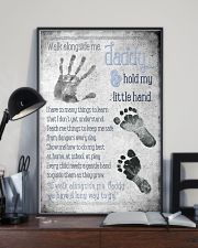 Daddy Hold Hand 24x36 Poster lifestyle-poster-2