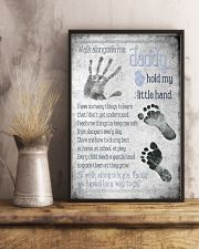 Daddy Hold Hand 24x36 Poster lifestyle-poster-3
