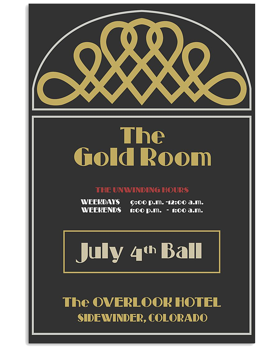 gold room 24x36 Poster