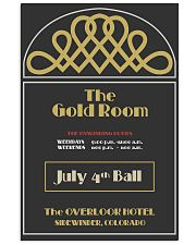 gold room 24x36 Poster front