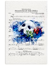 Phantom of the opera 24x36 Poster front
