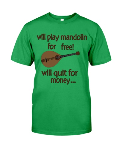 play mandolin