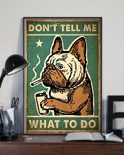 Pug Don't Tell Me 24x36 Poster lifestyle-poster-2